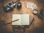 old, travel, essentials, photo camera, objects, old, Dariusz Sankowski